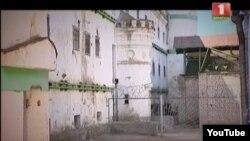 Камера сьмяротнікаў у старым корпусе «Валадаркі». Фота з тэлесюжэту каналу «Беларусь-1» «Гісторыя адной турмы»