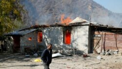 Nagorno-Karabakh: Azerbaijanis Plan Return As Armenians Destroy Homes