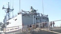 Учения НАТО и Украины в Черном море (видео)