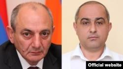Бако Саакян (слева) и Эдуард Агабекян