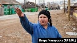 Усть-Бюр ауылы тұрғыны Любовь Фролова.