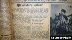 """""""Kommunist"""" qəzetinin 5 noyabr 1936-cı il sayı"""