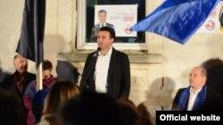 Претседателот на СДСМ Зоран Заев.