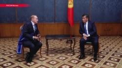 Новый президент Кыргызстана в Москве первым делом встретился с ведущим КВН