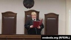 მოსამართლე ინა კლიშპახი, ბელარუსი, ბრესტი
