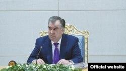 Эмомали Рахмон на расширенном заседании правительства, Душанбе, 21 января 2019 года