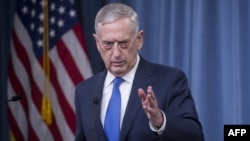 U.S. Secretary of Defense Jim Mattis (file photo)