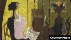 """Дуэт"" Жоржа Брака, 1937 (фото: www.mam.paris.fr)"