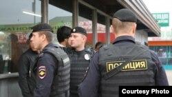 Полицейские рейды против мигрантов в Москве