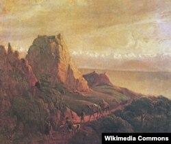 Qaraağac. Dəvələr. Kaxetiya. 1837