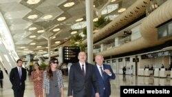 Heydər Əliyev Beynəlxalq Aeroportunun yeni aerovağzal kompleksinin açılışı