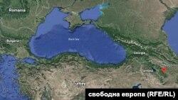 Къде се намира Нагорни Карабах спрямо България