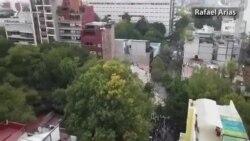 Tërmet në Meksikë- pamje nga droni