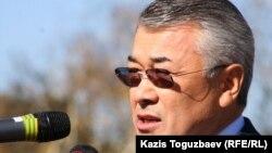Бывший глава финансовой полиции Сарыбай Калмурзаев.