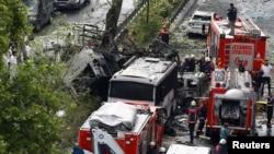 Стамбул, место взрыва, 7 июня 2016