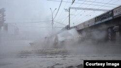 Авария на водоводе в Екатеринбурге
