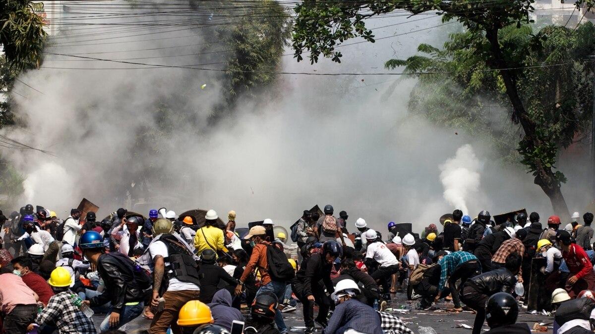 В Мьянмы 3 марта силовики убили 38 протестующих, включая детей