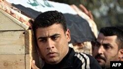 تشييع أحد الصحفيين العراقيين