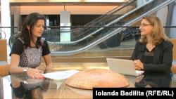 Tanja Fajon și Iolanda Bădiliță
