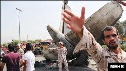 Тегеран маңында құлаған жолаушылар ұшағы. Иран, 10 тамыз 2014 жыл.
