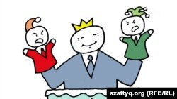 Қазақстандағы кезектен тыс президенттік сайлау. Сәбиттің карикатурасы.