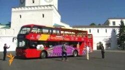 Казанда ике катлы автобус йөри башлады