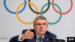 Президент Международного олимпийского комитета (МОК) Томас Бах.