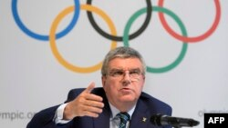 International Olympic Committee President Thomas Bach