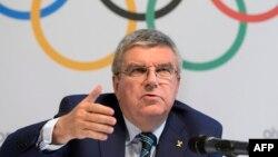 Томас Бах, Халықаралық олимпиада комитетінің президенті.