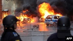 Sarajevo and other Bosnian cities were rocked by violent protests on february 7.