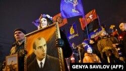 Шествие украинских националистов.