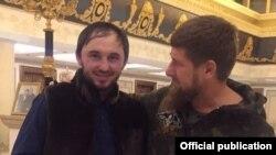 Махи Идрисов и Рамзан Кадыров, архивное фото