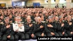 اعضای سپاه پاسداران انقلاب اسلامی