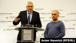 Марк Фейгин на пресс-конференции в Киеве