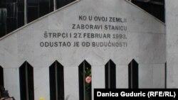 """""""Ko u ovoj zemlji zaboravi stanicu Štrpci i 27. februar 1993. odustao je od budućnosti'"""