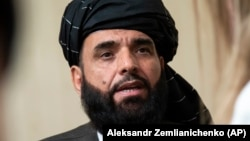 Taliban spokesman Suhail Shaheen rejected the cease-fire offer, saying the militants will keep fighting because of ongoing disagreements with the government. (file photo)