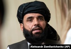 Taliban spokesman Suhail Shaheen (file [photo)