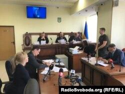 Під час асідання Апеляційного суду Києва