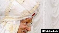 Тәлгатъ хәзрәт Таҗетдин губернатор Петр Сумин янында. Губернаторның рәсми сайты фотосы.