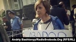 Азаров вирішив зустрітися з журналістами після чергової протестної акції, Київ, 23 травня 2013 року