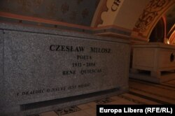 Cripta de la Cracovia - Czeslaw Milosz (Foto: Marius Stan)