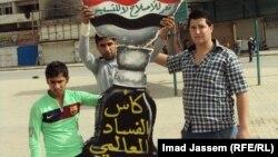 محتجون ضد الفساد في بغداد