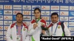 Бронза Мохру Халимовой на 17-х Азиатских играх в Южной Корее