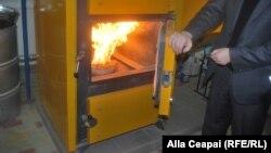 Cazanul de încălzire cu biomasă