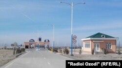 КПП «Саразм-Джартепа», который соединяет Самаркандскую область Узбекистана с Согдийской областью Таджикистана.