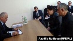 Şahin Mustafayev vətəndaşları qəbul edir - 20 aprel 2013