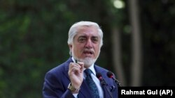 Abdullah Abdullah has criticized the Afghan president. (file photo)