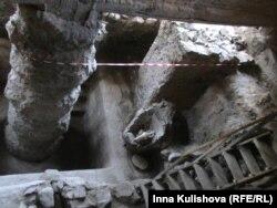 II век н.э. Раскопки в центре города. Здесь были римские термы