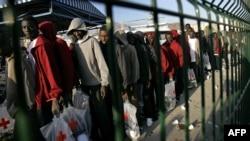 Очередная партия нелегальных иммигрантов, задержанная испанскими властями.