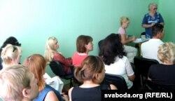 Устаноўчы сход «Руху маці 328» у Горадні. Горадня, 31 жніўня 2015 году